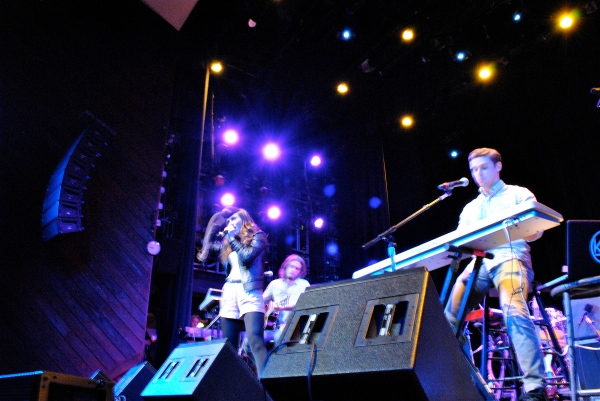 Karmin at Rethink Music. Photo credit Farah Joan Fard.