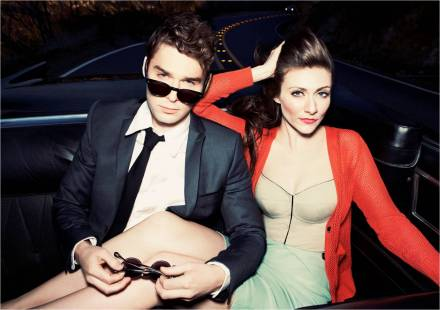 Amy Heidemann and Nick Noonan of Karmin. Photo courtesy of Epic Records.