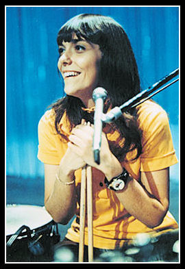I still meet people who don't know that Karen Carpenter was a very gifted drummer. However, a lot of people stay fixated on her illness. That's another point altogether.