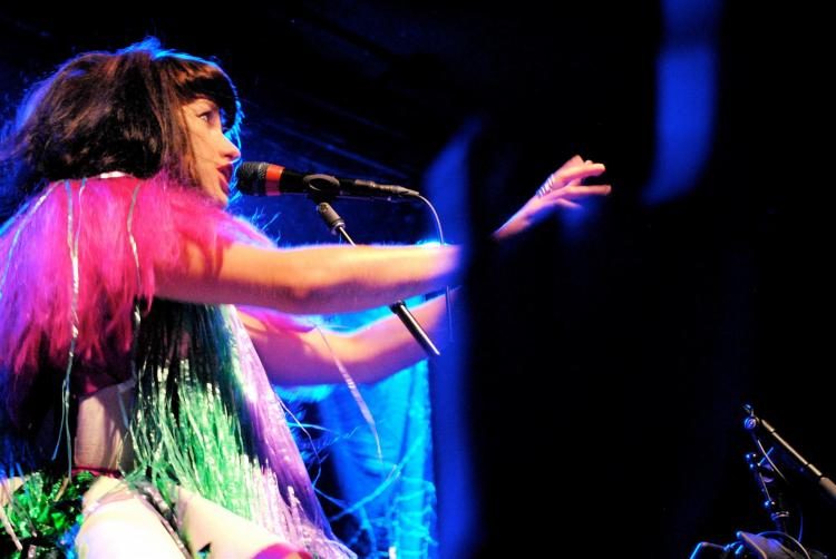 Kimbra in Boston 2012