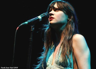 She & Him 2010 ©Farah Joan Fard