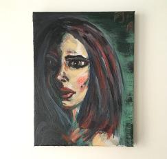 9x11 3/4 acrylic on canvas