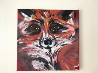 12X12 acrylic on canvas