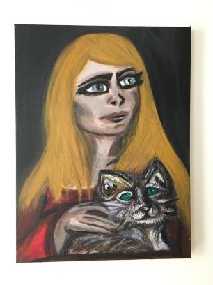 12x16 Acrylic and Oil on Canvas